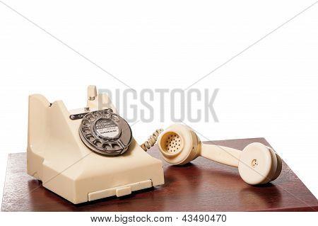 Fifties Gpo Vintage Ivory Telephone