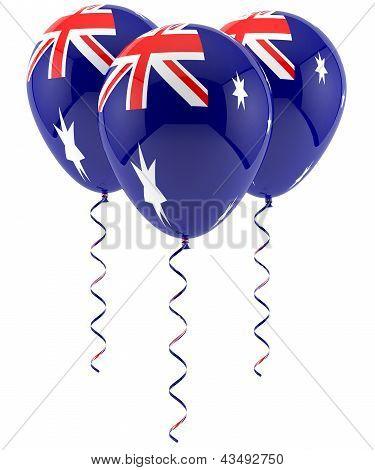 Austrailian Flag Balloon