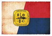 stock photo of memphis tennessee  - Flag of Memphis  - JPG