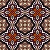 art nouveau geometric ornamental vintage pattern in violet