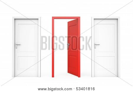 Opened Red Door , Oportunity