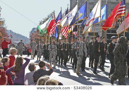 Patriotism On Parade During the Holidays