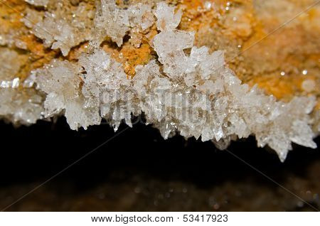 gypsum crystals