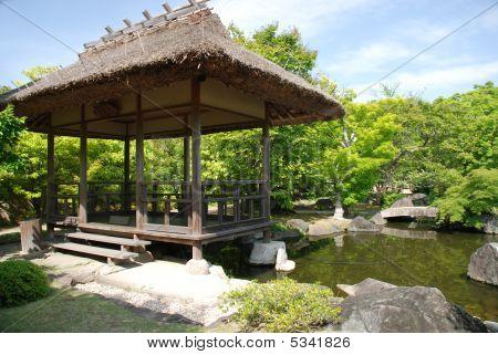 Koko-en Gardens In Himeji, Japan