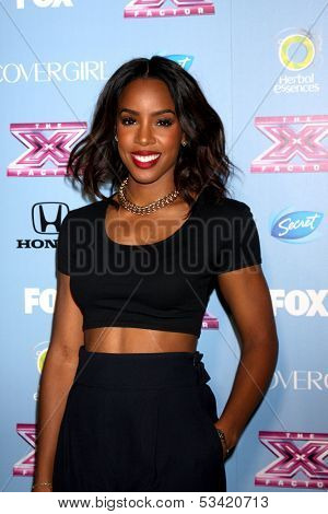 LOS ANGELES - NOV 4:  Kelly Rowland at the 2013