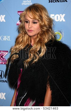 LOS ANGELES - NOV 4:  Paulina Rubio at the 2013