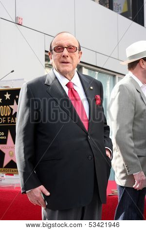 LOS ANGELES - NOV 4:  Clive Davis at the Janis Joplin Hollywood Walk of Fame Star Ceremony at Hollywood Blvd on November 4, 2013 in Los Angeles, CA