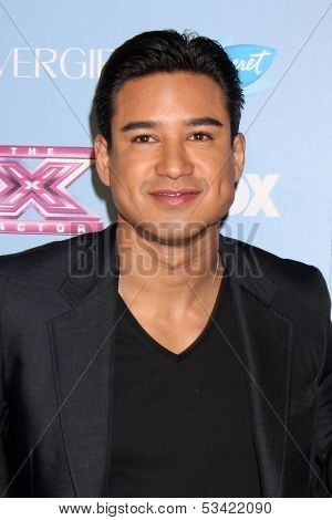 LOS ANGELES - NOV 4:  Mario Lopez at the 2013