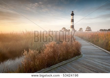 North Carolina Bodie Island Lighthouse Autumn