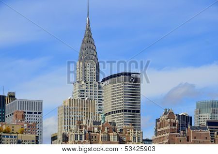Midtown and Chrysler building