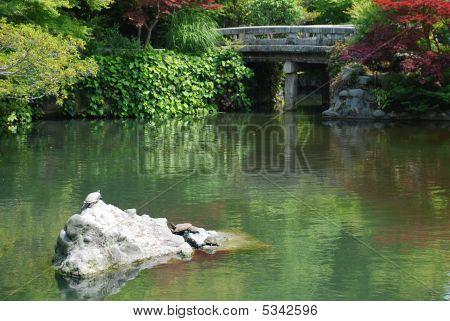 Gardens At Eikando Temple
