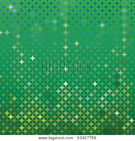 Vector abstract green detailed background