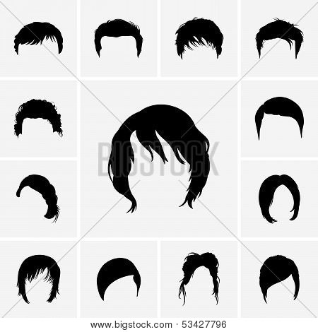 Hair Style icons