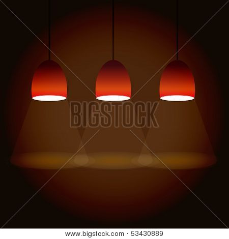 Illustration Of Three Lights