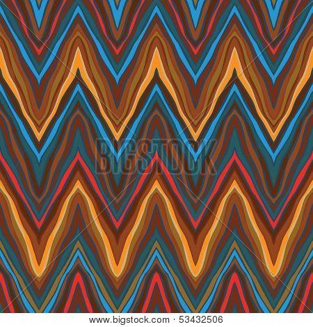 vector zigzag vintage seamless pattern