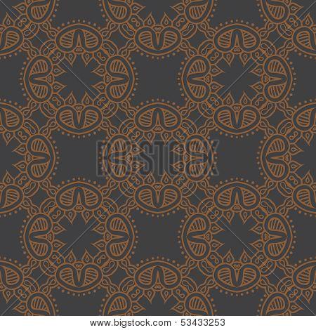 elegant floral seamless vector pattern