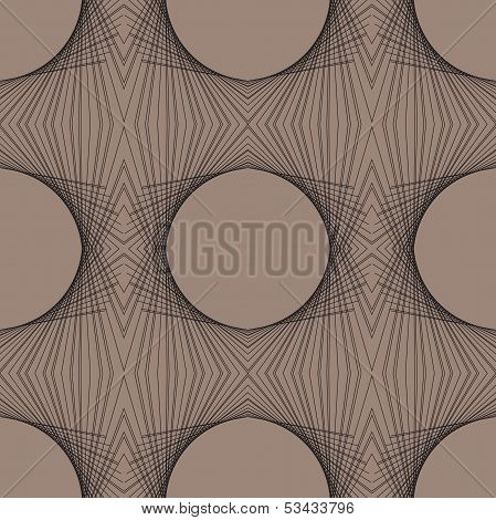 futuristic geometric art deco modern pattern