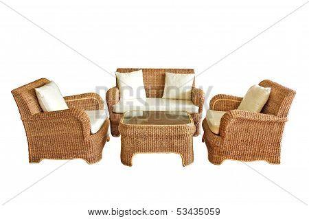 Luxury Furniture Isolated