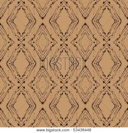 vintage vector argyle pattern, seamless background
