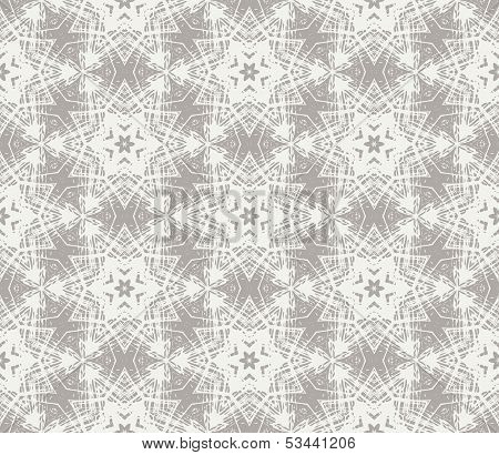Northern vector geometrical pattern with stars