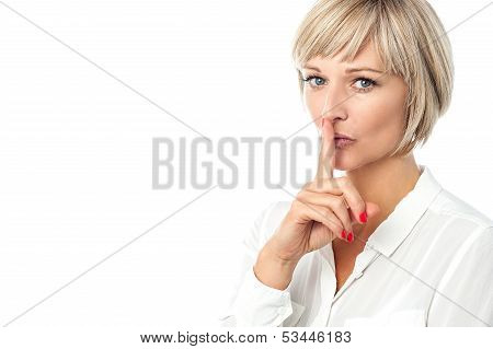 Hush...silence Please!