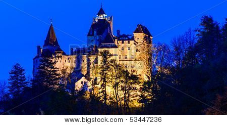 Panorama Bran Castle, Romania