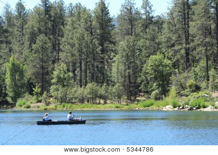 Canoe Fishing