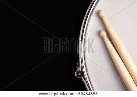 Drum and Sticks