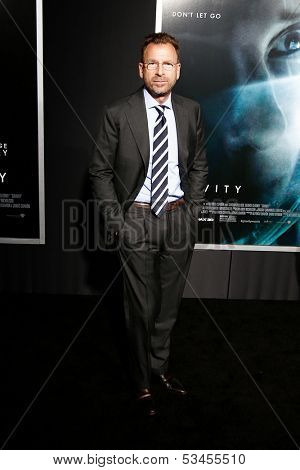 NEW YORK-OCT 1: Businessman Edgar Bronfman, Jr. attends the 'Gravity' premiere at AMC Lincoln Square Theater on October 1, 2013 in New York City.