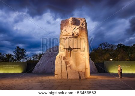 Washington, Dc - Memorial To Dr. Martin Luther King