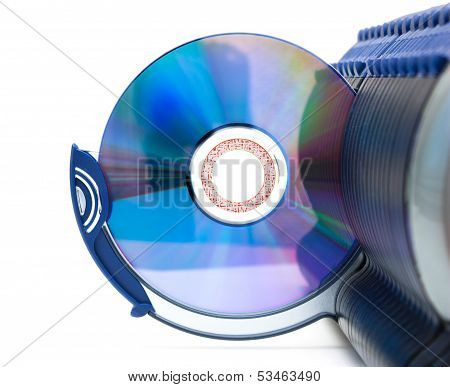 Cd In Open Section Of Box