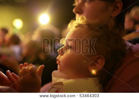 Family In The Theater
