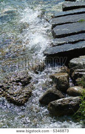 Ufer Und Gischt