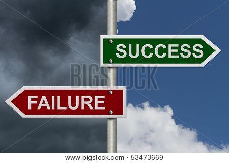 Success Versus Failure