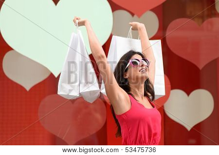 Succesful Woman Shopping
