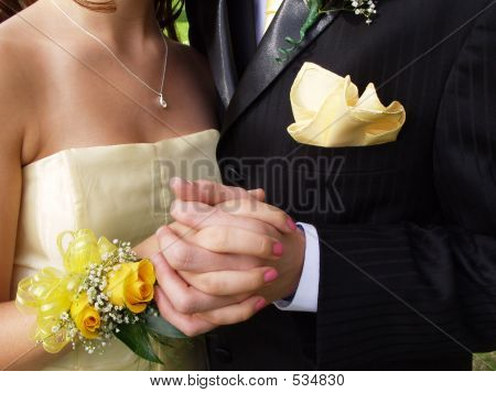 Prom Couple Closeup