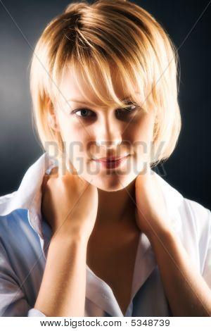 Young Woman Soft Portrait