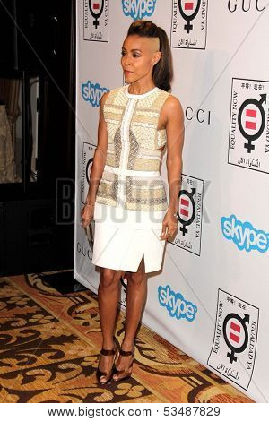 LOS ANGELES - NOV 4:  Jada Pinkett Smith at the Equality Now Presents Make Equality Reality at Montage Hotel on November 4, 2013 in Beverly Hills, CA