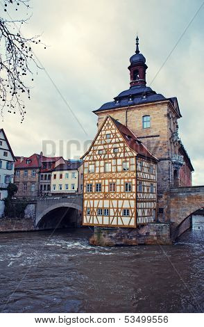 The Old Town Hall In Bamberg(Germany)