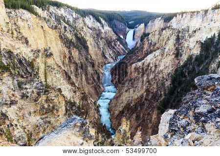 Grand Canyon At Yellowstone
