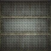 Lattice. Texture Of Metal Plate.