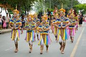 Songkhla, Thailand- October 20: Traditional Dance Manora In Lak Phra The Festival  To Celebrate The
