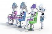Robot Hair Salon