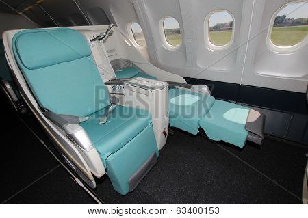 Business/first Class In Airplane