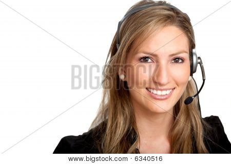 Customer Services Girl