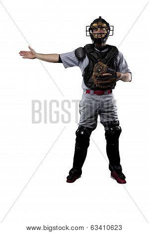 Catcher Baseball Player