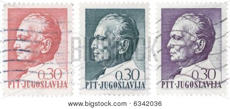 Three Tito Stamps