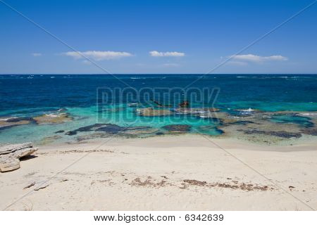 Beach With Shipwreck