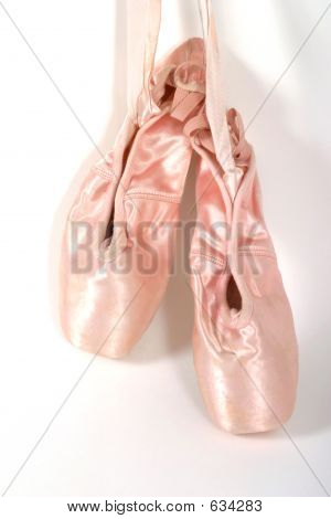 New Ballet Slippers Hanging