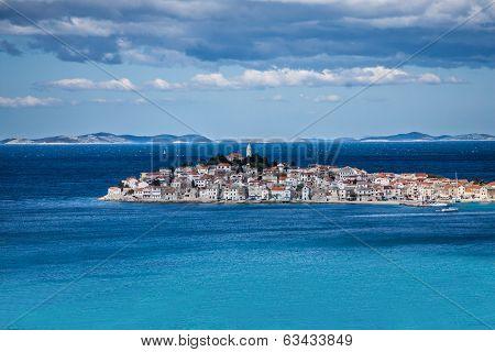 Primosten, Famous Touristic Destination In Croatia